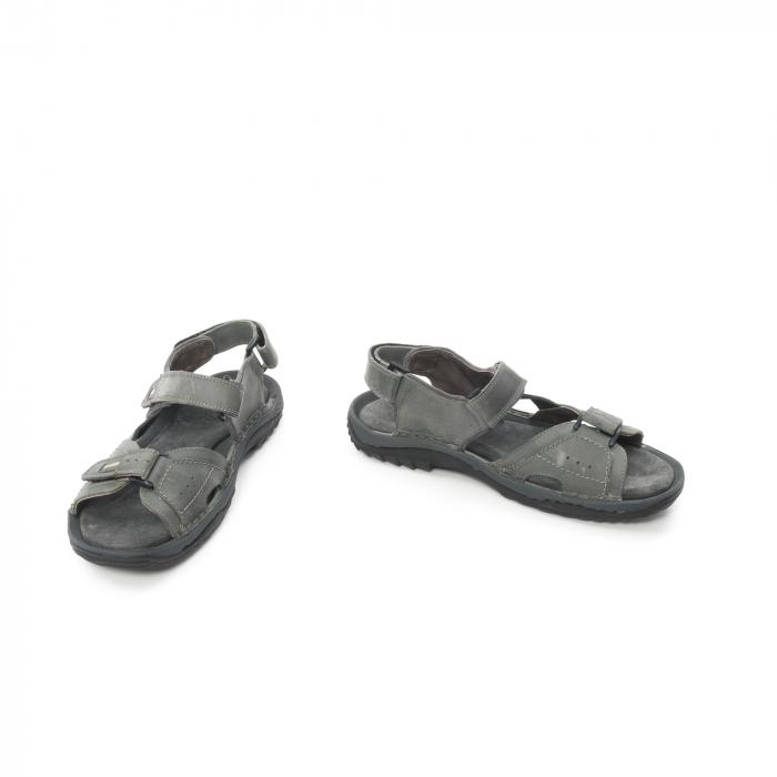 Sandale barbat  LFX 693 - Gri 4
