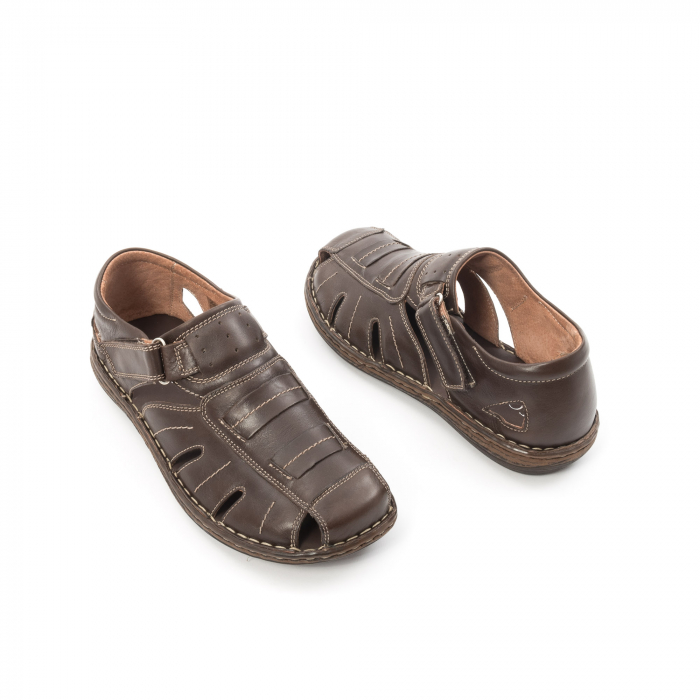 Sandale barbat LFX 928 - Maro 2