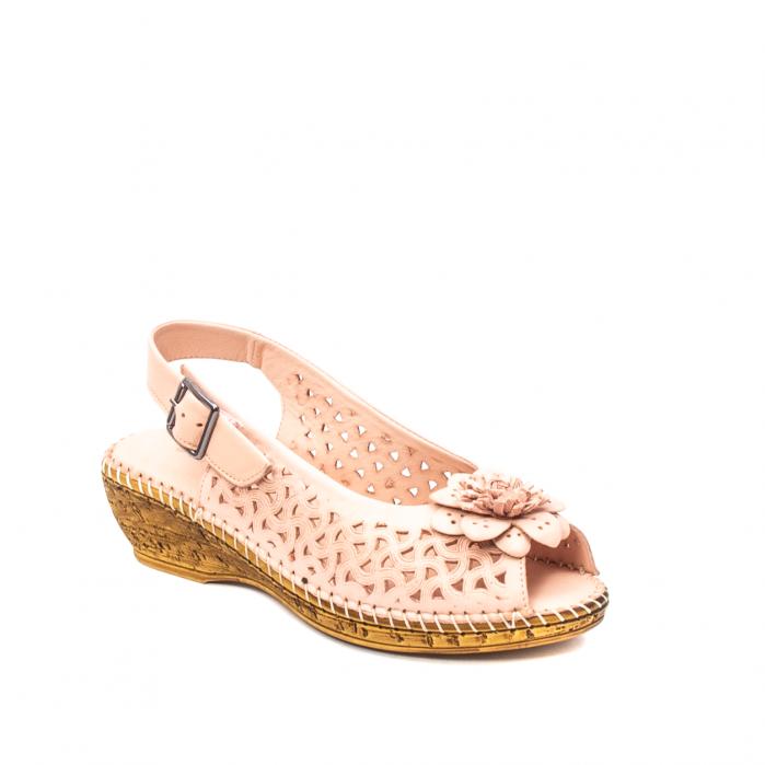 Sandale dama, piele naturala, D43700 M2-N 0