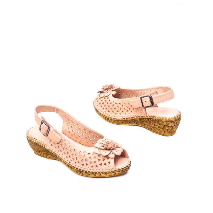 Sandale dama, piele naturala, D43700 M2-N 1