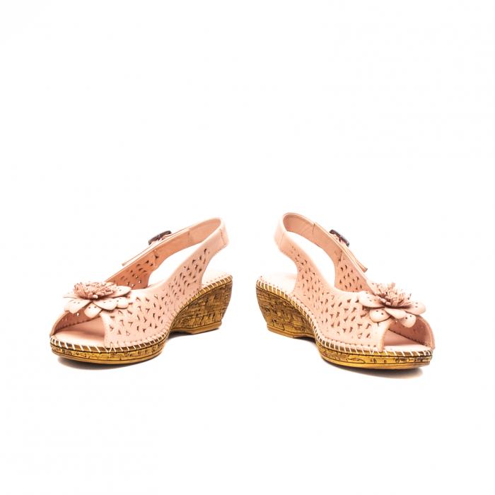 Sandale dama, piele naturala, D43700 M2-N 3