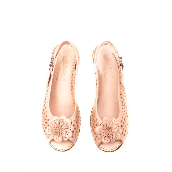 Sandale dama, piele naturala, D43700 M2-N 4