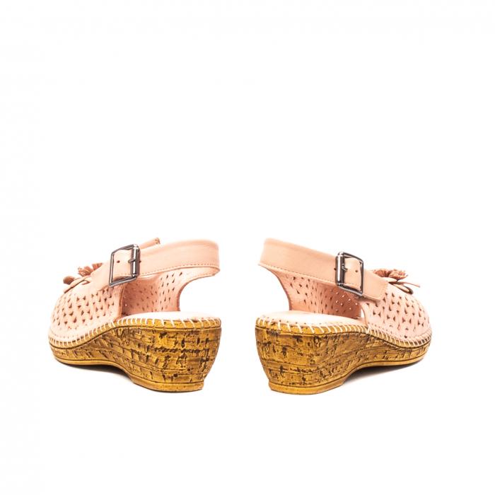 Sandale dama, piele naturala, D43700 M2-N 5