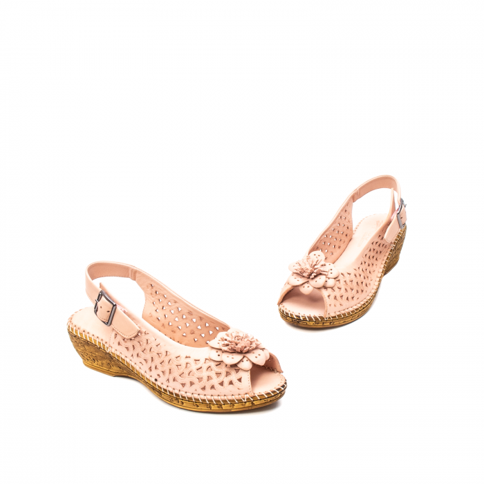 Sandale dama, piele naturala, D43700 M2-N 6