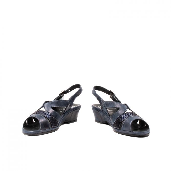 Sandale dama, piele naturala, Roma SU0259 42-N 4