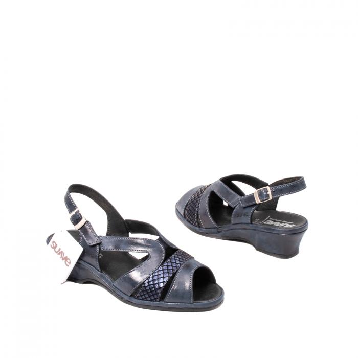 Sandale dama, piele naturala, Roma SU0259 42-N 2