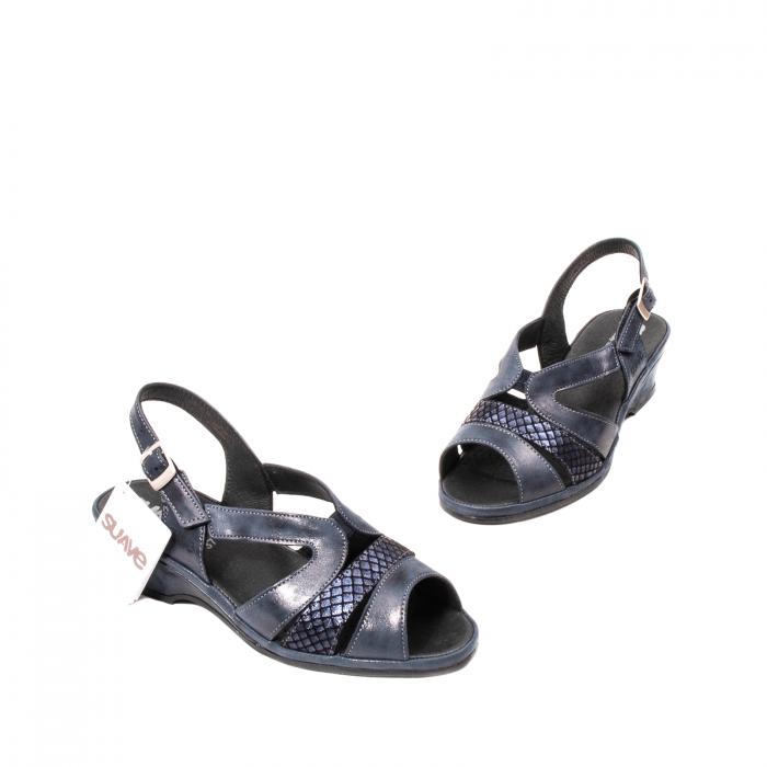 Sandale dama, piele naturala, Roma SU0259 42-N 1