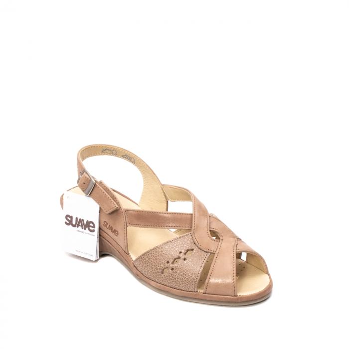 Sandale dama, piele naturala, ROMA SU0264 0