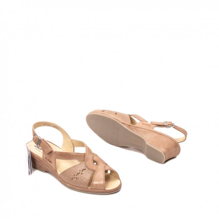 Sandale dama, piele naturala, ROMA SU0264 3