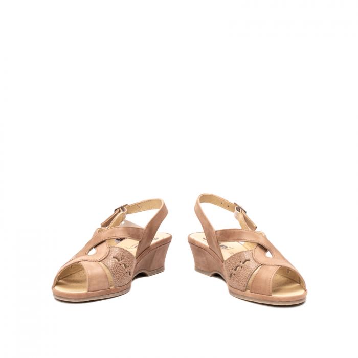 Sandale dama, piele naturala, ROMA SU0264 4