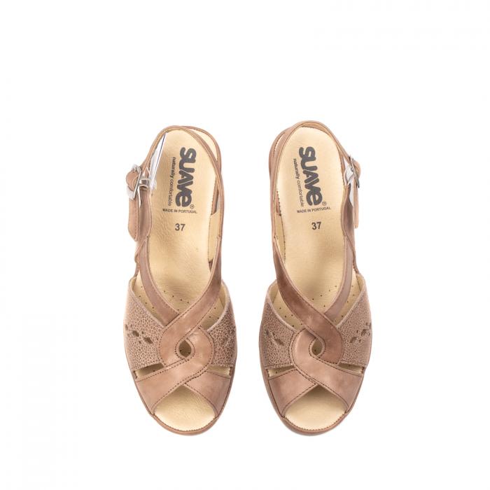 Sandale dama, piele naturala, ROMA SU0264 5