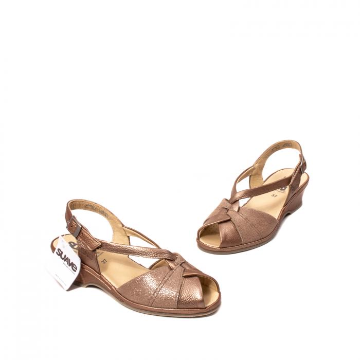 Sandale dama, piele naturala, SU0065 ROMA B2-N [1]