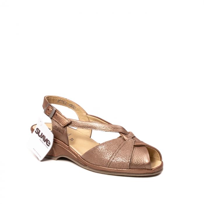 Sandale dama, piele naturala, SU0065 ROMA B2-N [0]