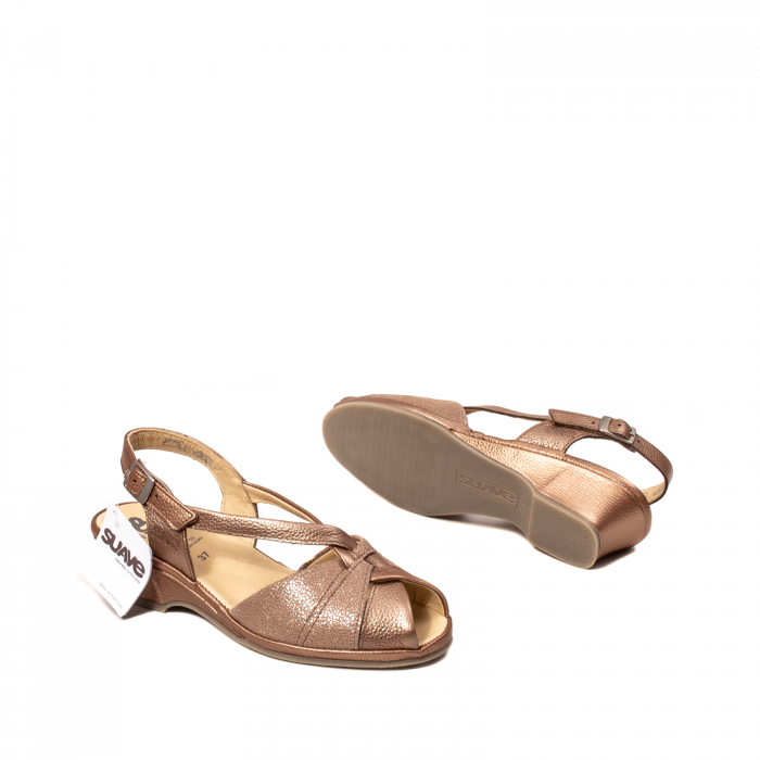Sandale dama, piele naturala, SU0065 ROMA B2-N [3]
