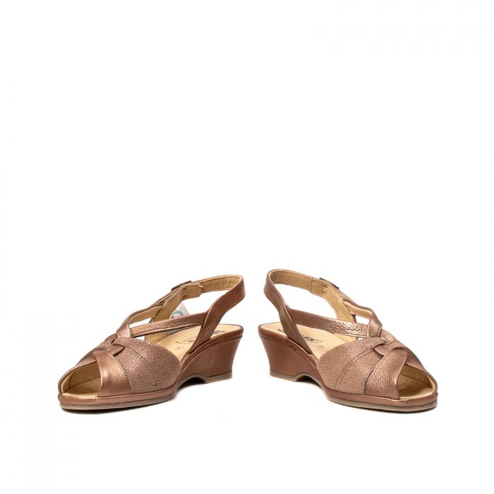 Sandale dama, piele naturala, SU0065 ROMA B2-N [4]