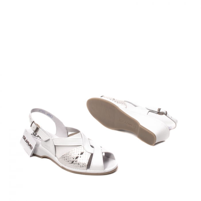Sandale dama casual, piele naturala, SU0264P ROMA 13-N 3