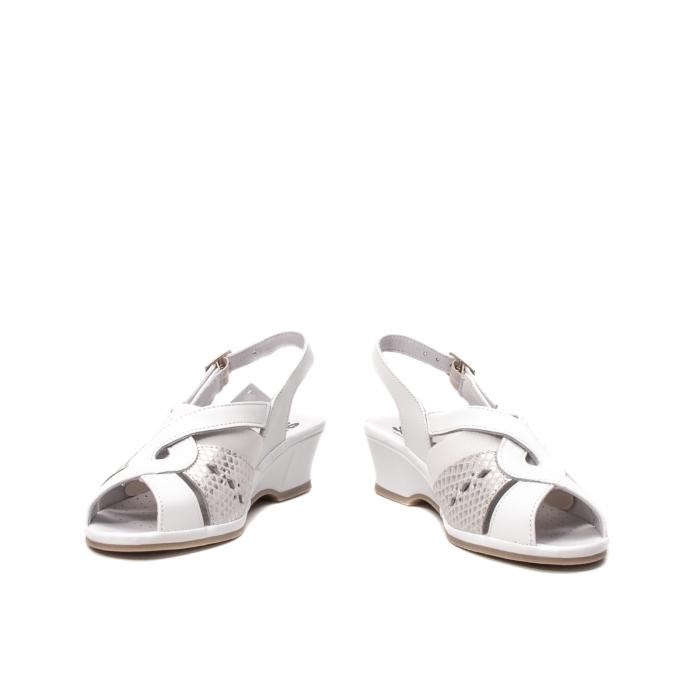 Sandale dama casual, piele naturala, SU0264P ROMA 13-N 4
