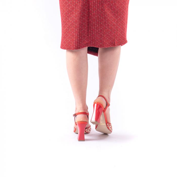 Sandale dama elegante Epica OE8643 05-2, rosu 4