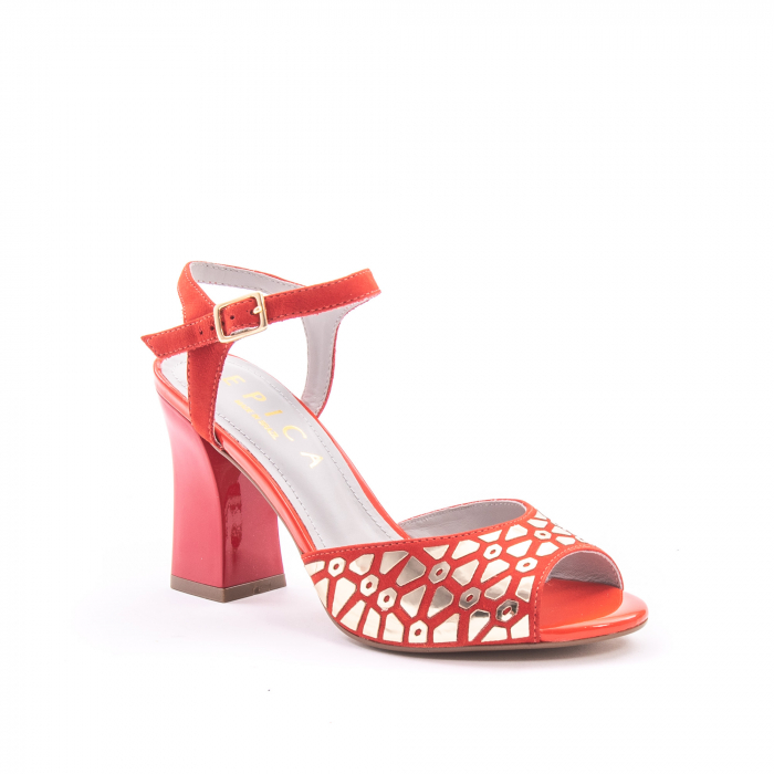 Sandale dama elegante Epica OE8643 05-2, rosu 0