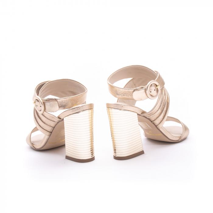 Sandale dama elegante piele naturala Epica oe8785-274, auriu 6