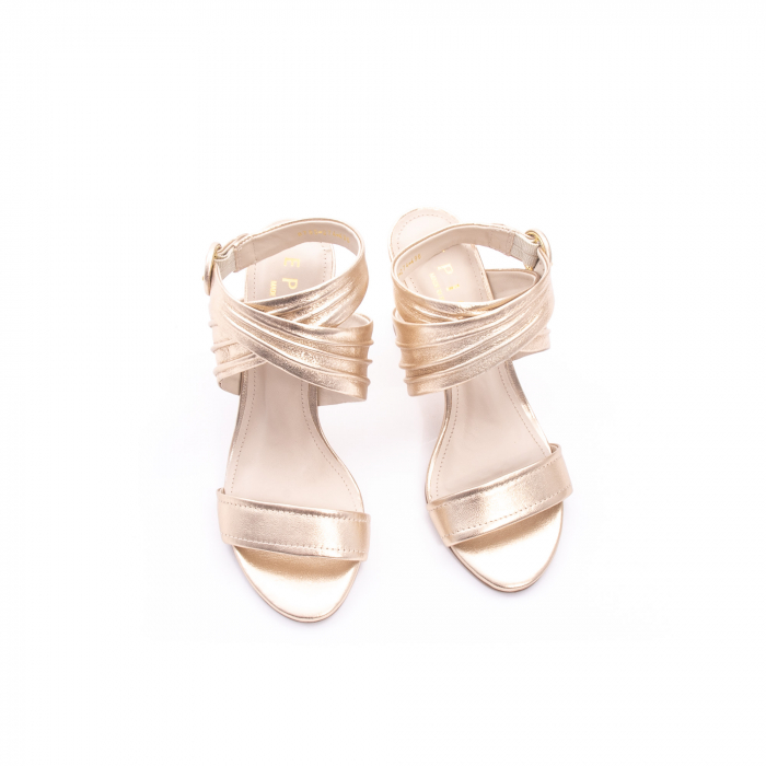 Sandale dama elegante piele naturala Epica oe8785-274, auriu 5