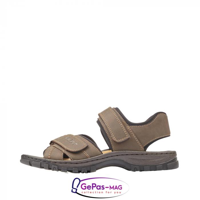 Sandale barbati, piele naturala, 25051-27 4