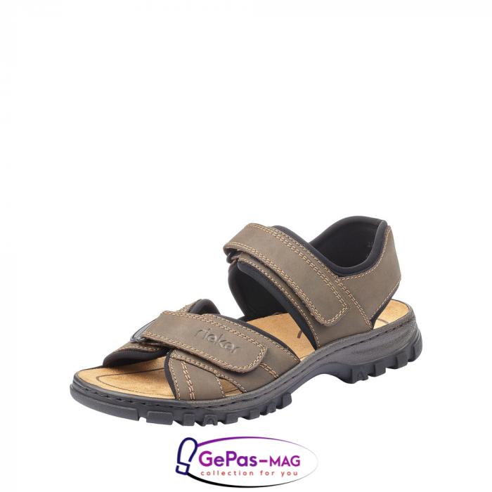 Sandale barbati, piele naturala, 25051-27 0