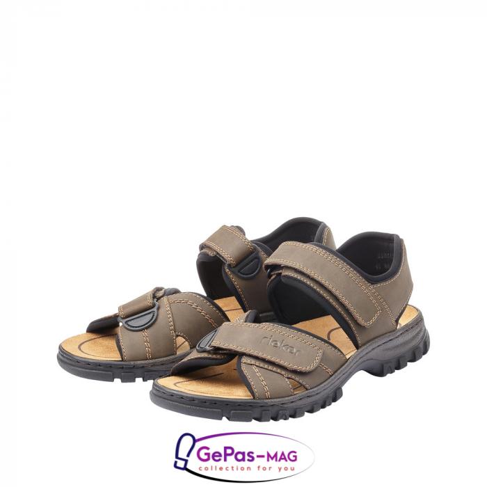 Sandale barbati, piele naturala, 25051-27 6