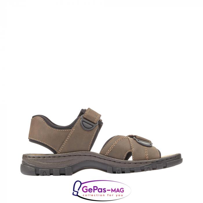 Sandale barbati, piele naturala, 25051-27 5