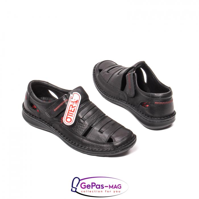 Sandale barbat, piele naturala, 9562 N 2
