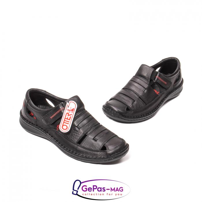 Sandale barbat, piele naturala, 9562 N 1