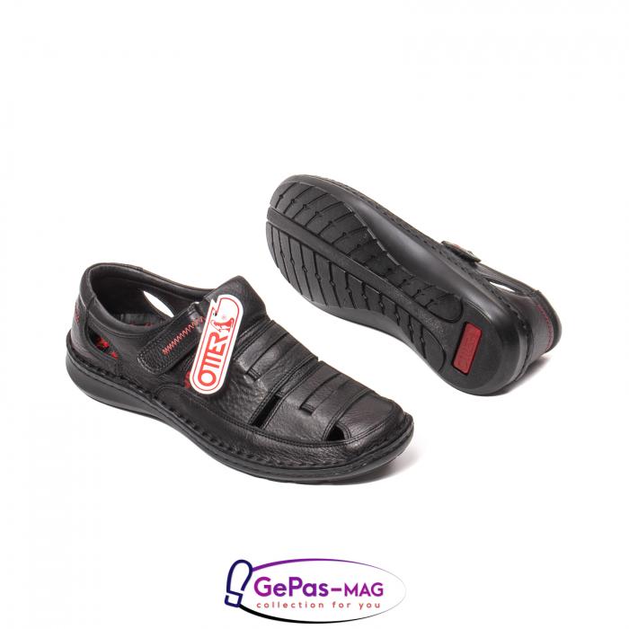 Sandale barbat, piele naturala, 9562 N 3
