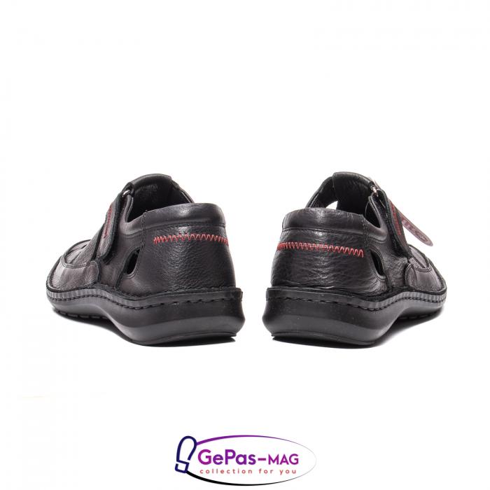 Sandale barbat, piele naturala, 9562 N 6