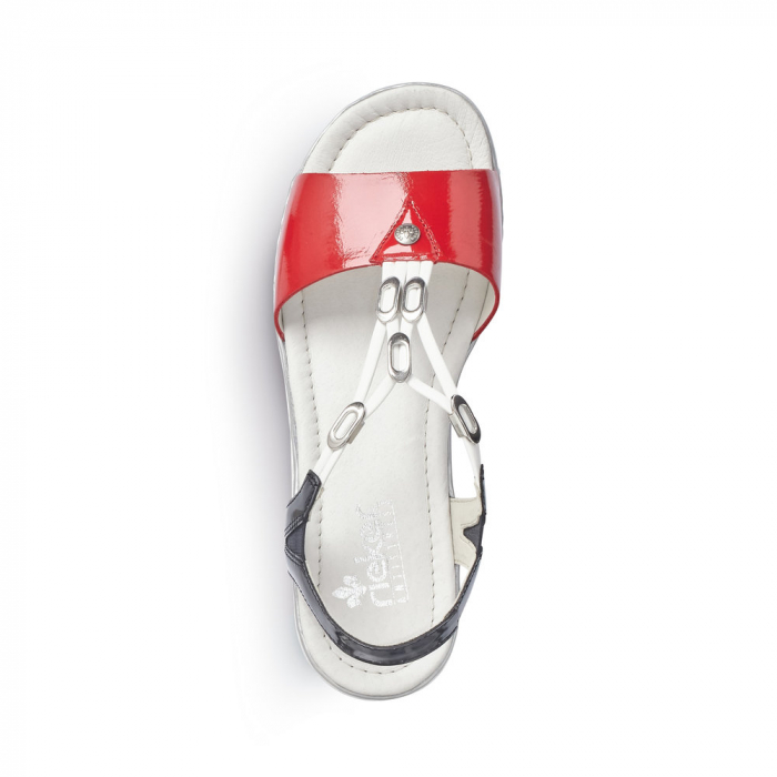 Sandale dama model casual Tommy, piele naturala, RIK V02Y6-33 3