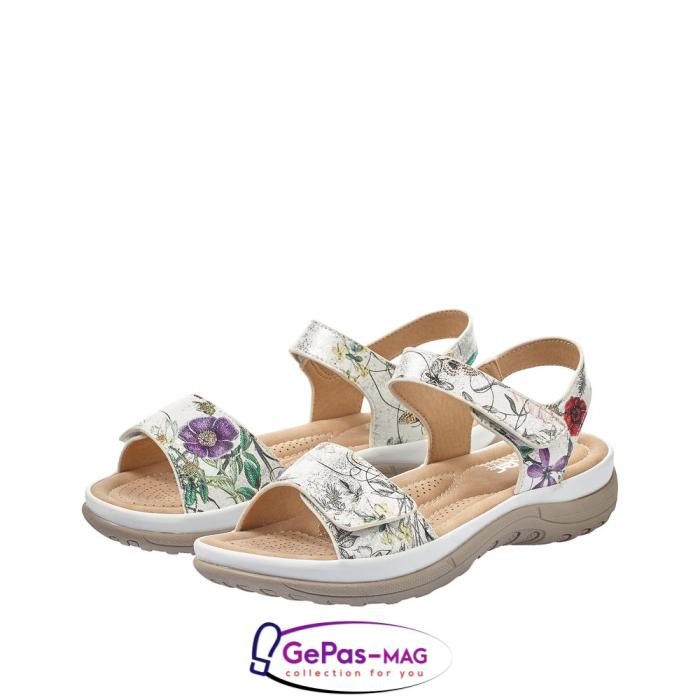 Sandale casual dama, multicolor, V8850-80 6