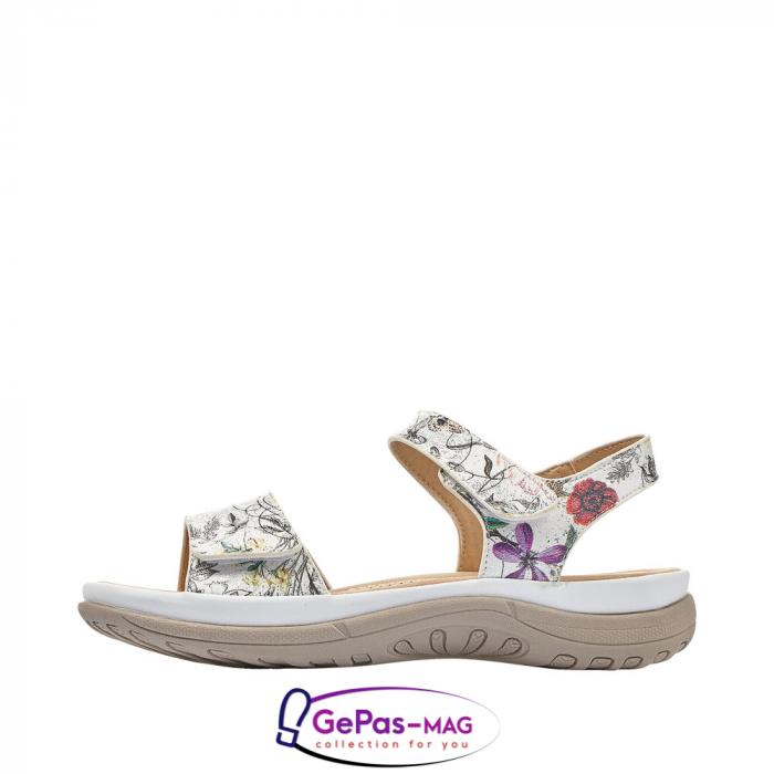 Sandale casual dama, multicolor, V8850-80 5