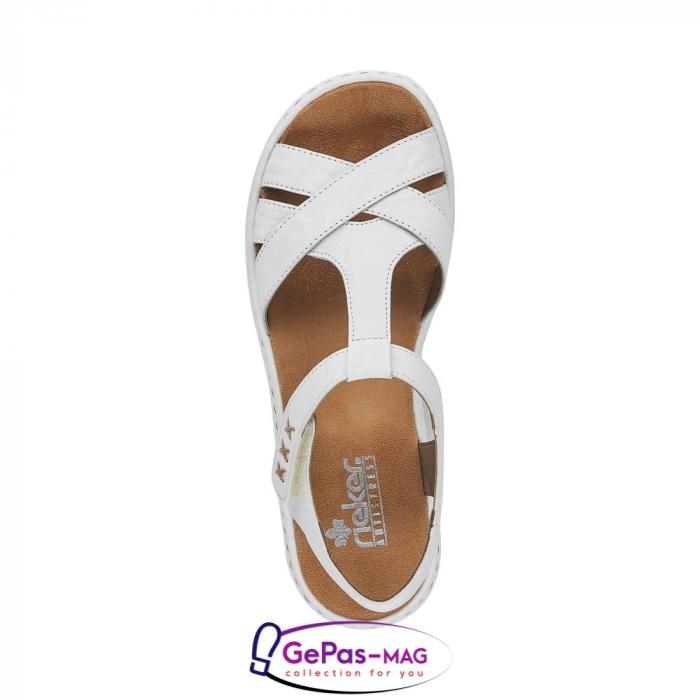 Sandale dama casual, piele naturala, 65919-80 [2]