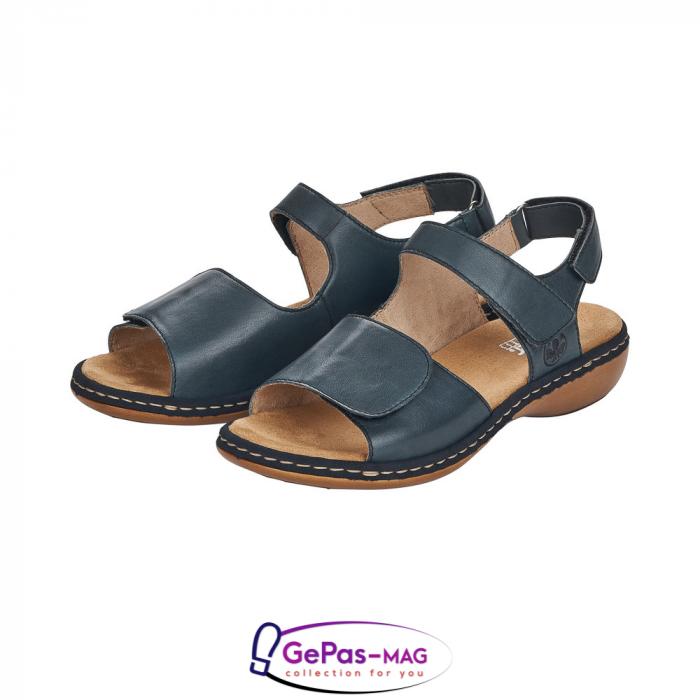 Sandale casual, piele naturala, 659G0-14 2