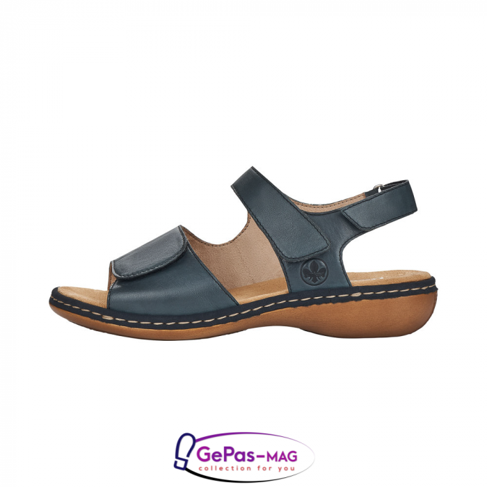 Sandale casual, piele naturala, 659G0-14 4