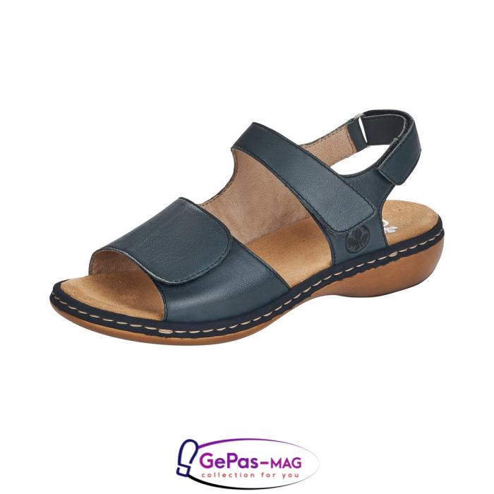 Sandale casual, piele naturala, 659G0-14 0