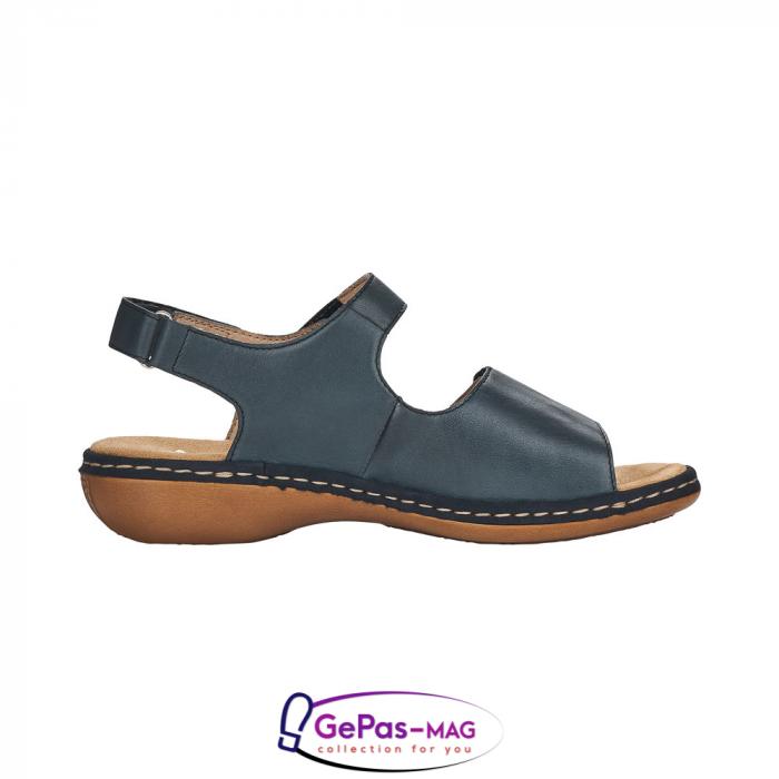 Sandale casual, piele naturala, 659G0-14 6