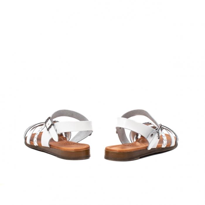 Sandale dama casual, piele naturala, E51500 J9-N 6