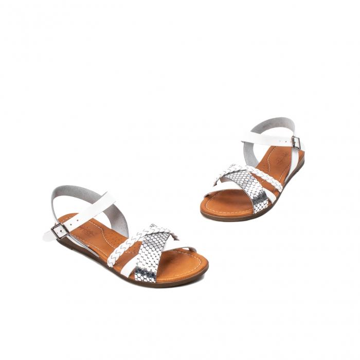 Sandale dama casual, piele naturala, E51500 J9-N 1