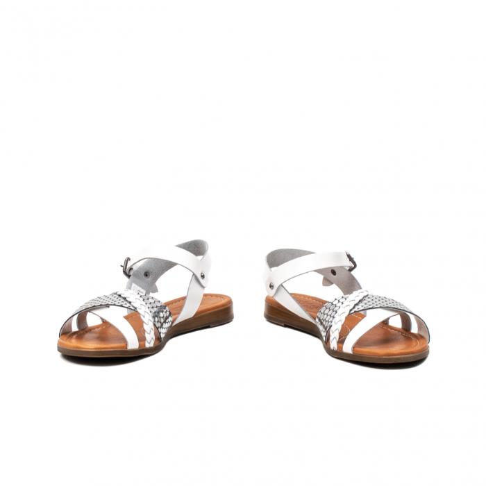 Sandale dama casual, piele naturala, E51500 J9-N 4