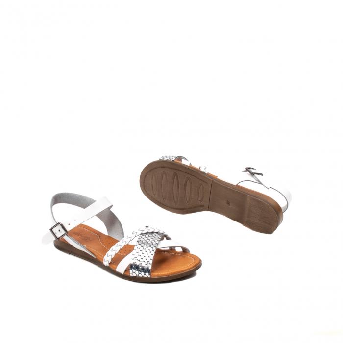 Sandale dama casual, piele naturala, E51500 J9-N 3