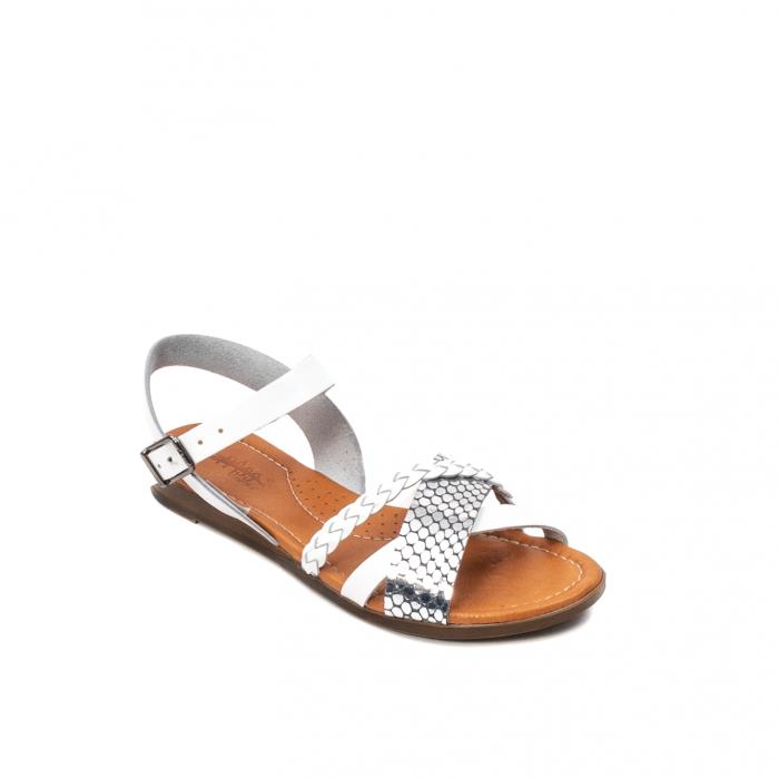 Sandale dama casual, piele naturala, E51500 J9-N 0
