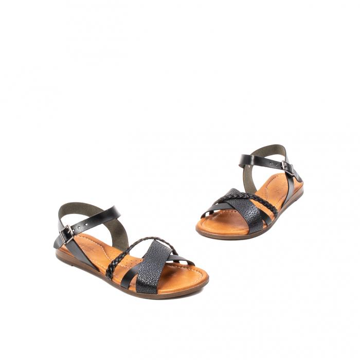 Sandale dama casual, piele naturala, E51500 L2-N 1