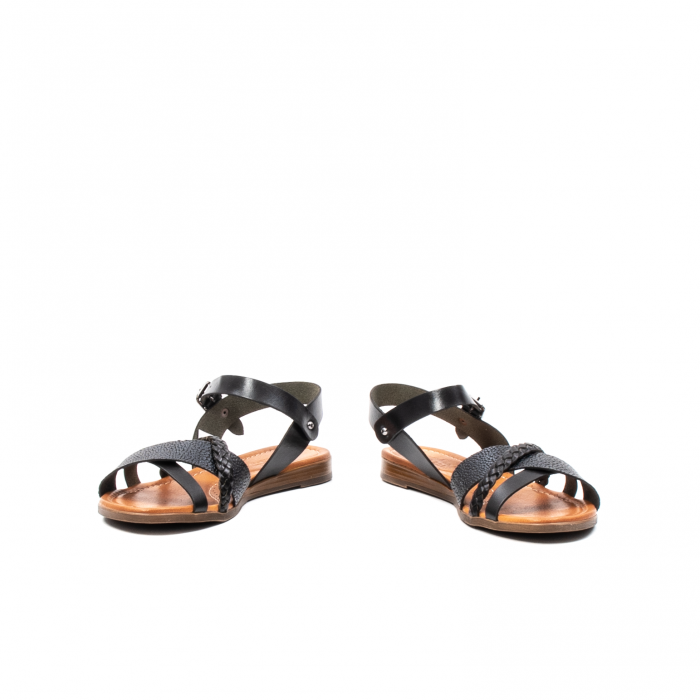 Sandale dama casual, piele naturala, E51500 L2-N 4