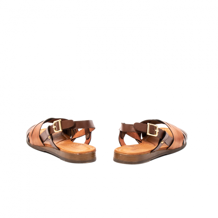 Sandale dama casual, piele naturala, E51503 02-N 6