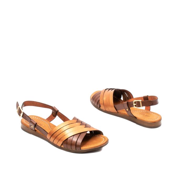 Sandale dama casual, piele naturala, E51503 02-N 2